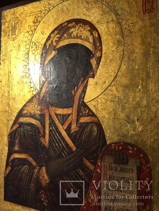 Богородица из Деисусного чина, фото №10