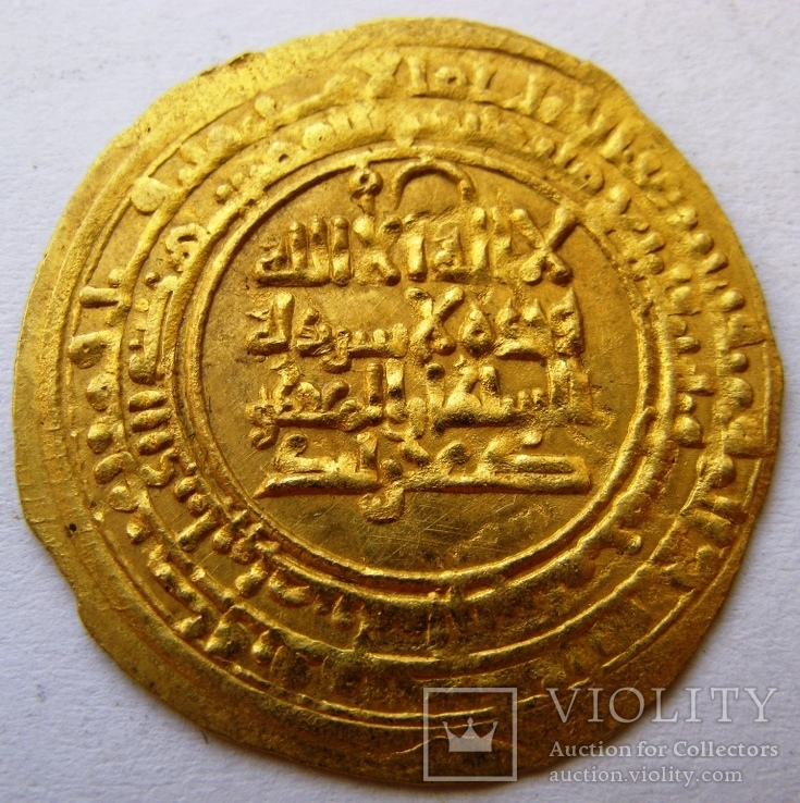 Золотой динар, династия KAKWAYHID, FARAMURZ IBN MUHAMMAD, 433-443 AH / 1041-1051 AD
