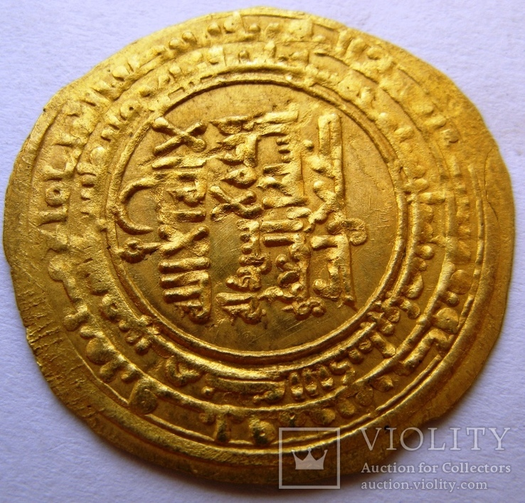 Золотой динар, династия KAKWAYHID, FARAMURZ IBN MUHAMMAD, 433-443 AH / 1041-1051 AD, фото №4