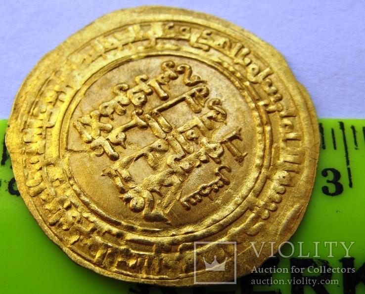 Золотой динар, династия KAKWAYHID, FARAMURZ IBN MUHAMMAD, 433-443 AH / 1041-1051 AD, фото №5