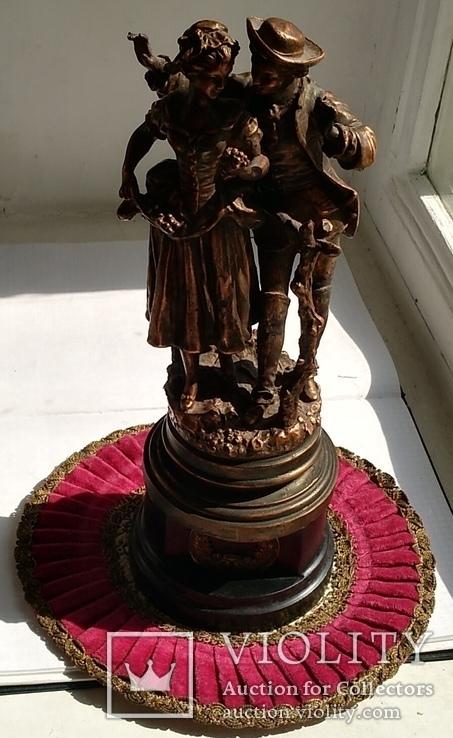 Скульптура «Влюблённая парочка», фото №3