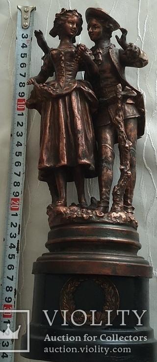 Скульптура «Влюблённая парочка», фото №5