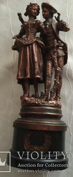 Скульптура «Влюблённая парочка», фото №7