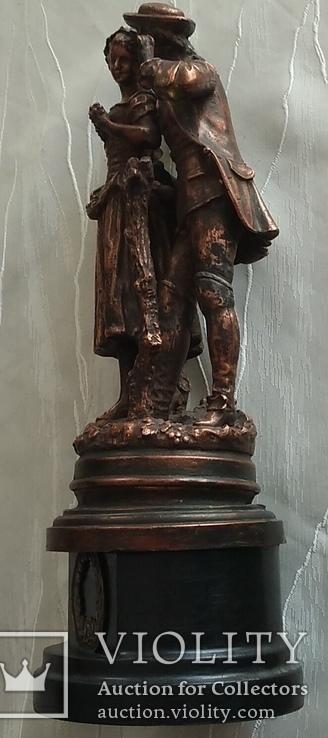 Скульптура «Влюблённая парочка», фото №10