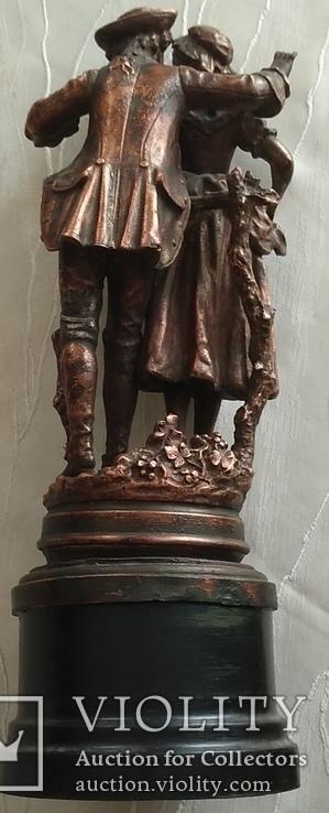 Скульптура «Влюблённая парочка», фото №11
