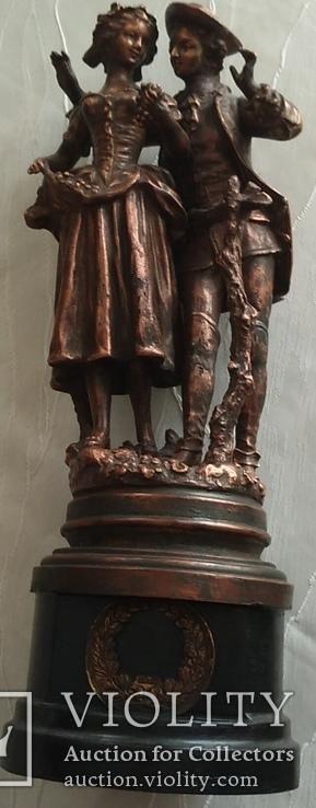 Скульптура «Влюблённая парочка», фото №13