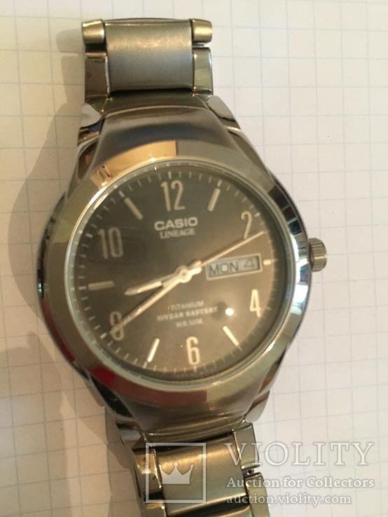 Лот 0068 Новые мужские часы Casio (оригинал) LIN-172, фото №3