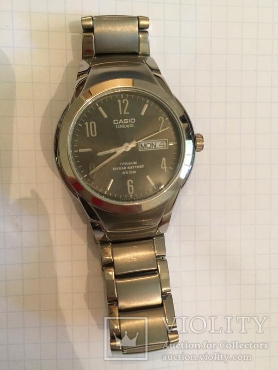 Лот 0068 Новые мужские часы Casio (оригинал) LIN-172
