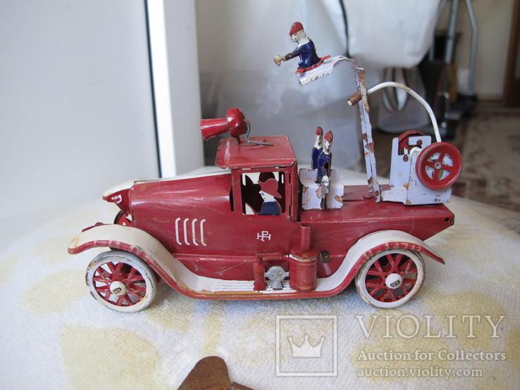 Пожарная машина Заводная игрушка ., фото №3