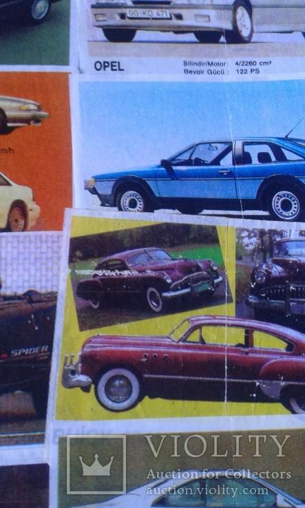 Вкладыши Turbo 39 штук, фото №5