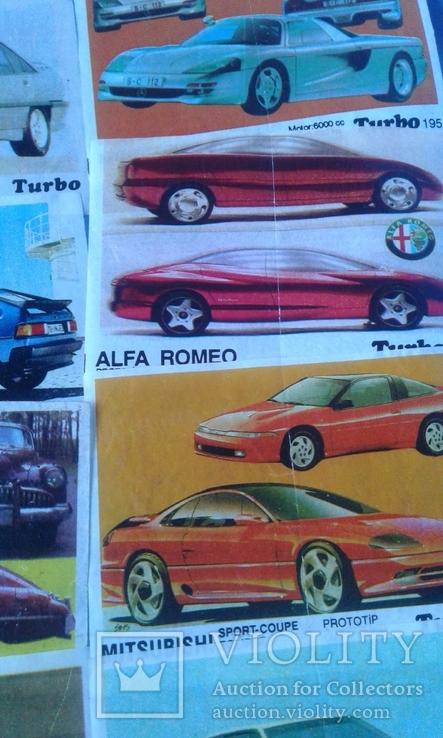 Вкладыши Turbo 39 штук, фото №7