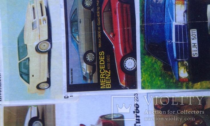 Вкладыши Turbo 39 штук, фото №8