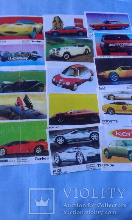 Вкладыши Turbo 39 штук, фото №9