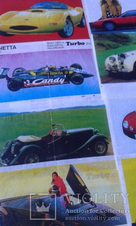 Вкладыши Turbo 39 штук, фото №10