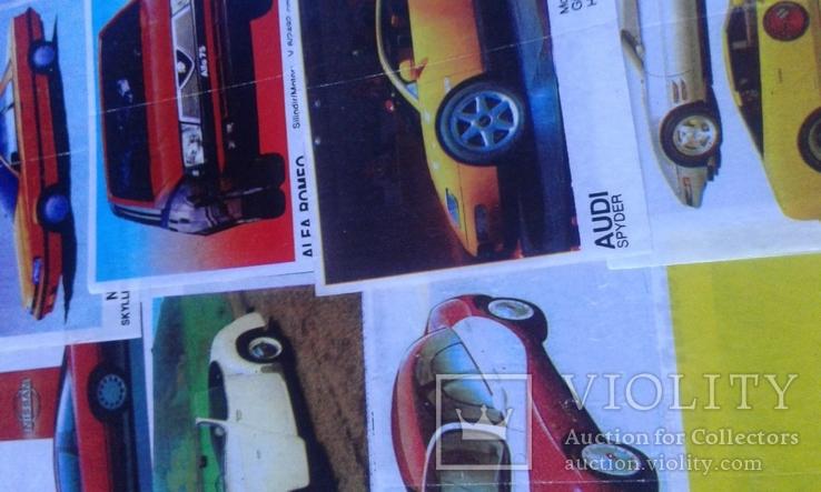 Вкладыши Turbo 39 штук, фото №12