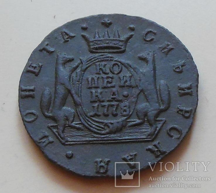Копейка 1778 г. КМ., фото №4