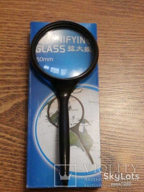 Лупа ручная Magnifying Glass , диаметр 60 мм  Увеличения 3х