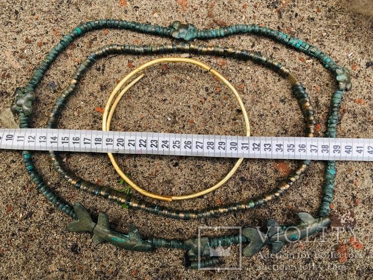 Комплекс шейных украшений, фото №9