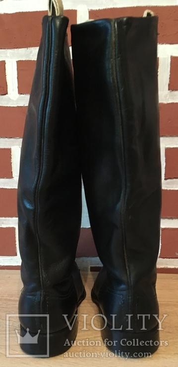 Новые хромовые сапоги, 38 размер., фото №4