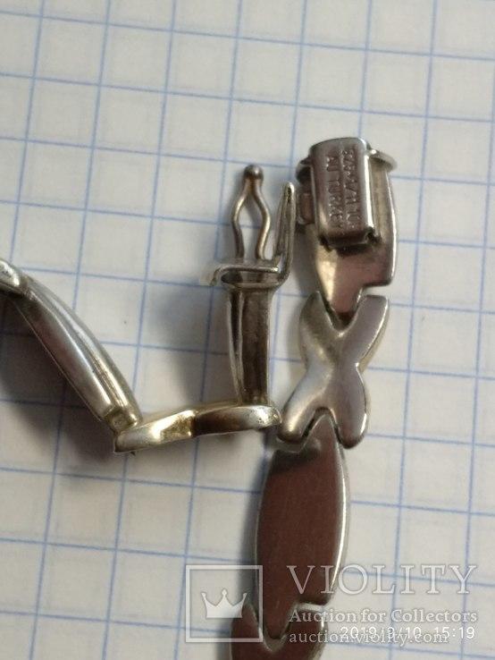 Цепочка с браслетом, позолота, Турция, фото №4