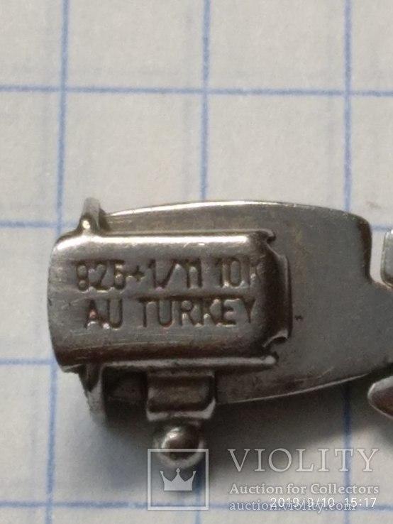 Цепочка с браслетом, позолота, Турция, фото №6