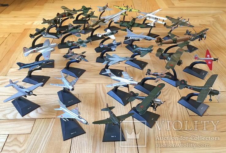 Модели самолётов СССР, 35 шт