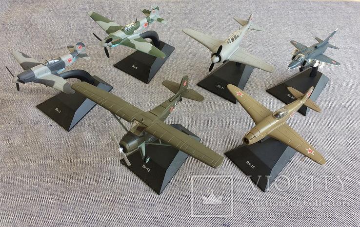 Модели самолётов СССР, 35 шт, фото №3