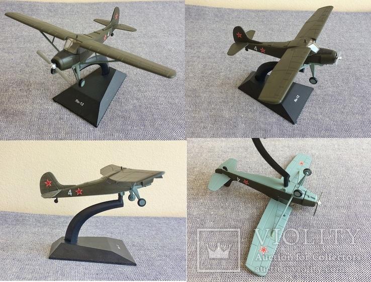Модели самолётов СССР, 35 шт, фото №7