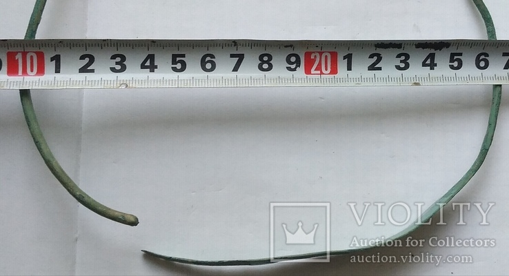 Большая шейная гривна периода неолита, возможно РЖВ., фото №8