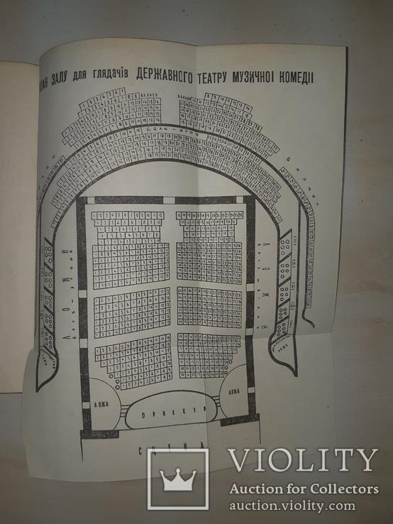 1949 Театральний Київ з планами, фото №4