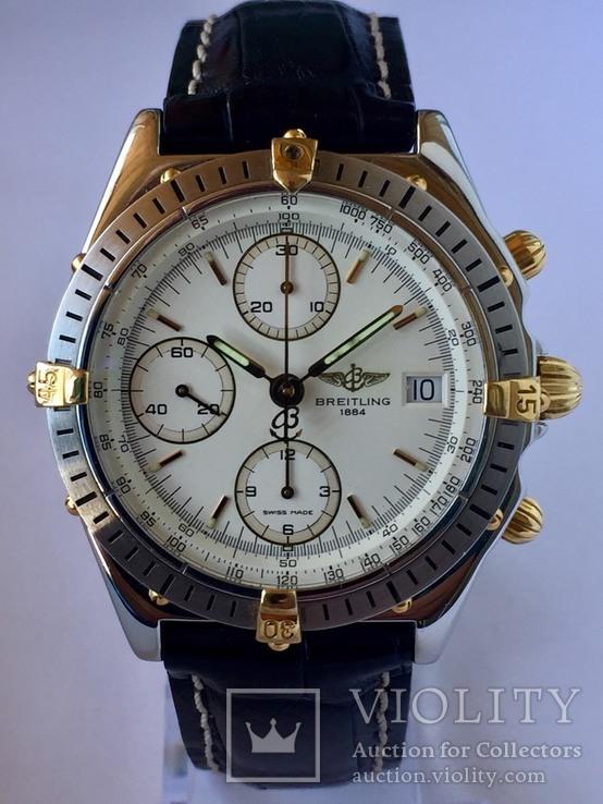 Часы фирмы-Breitling хронограф.