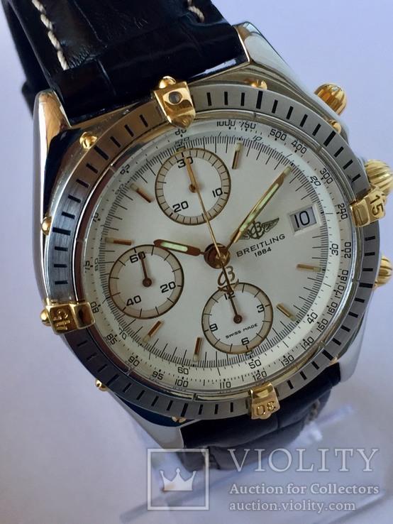 Часы фирмы-Breitling хронограф., фото №3