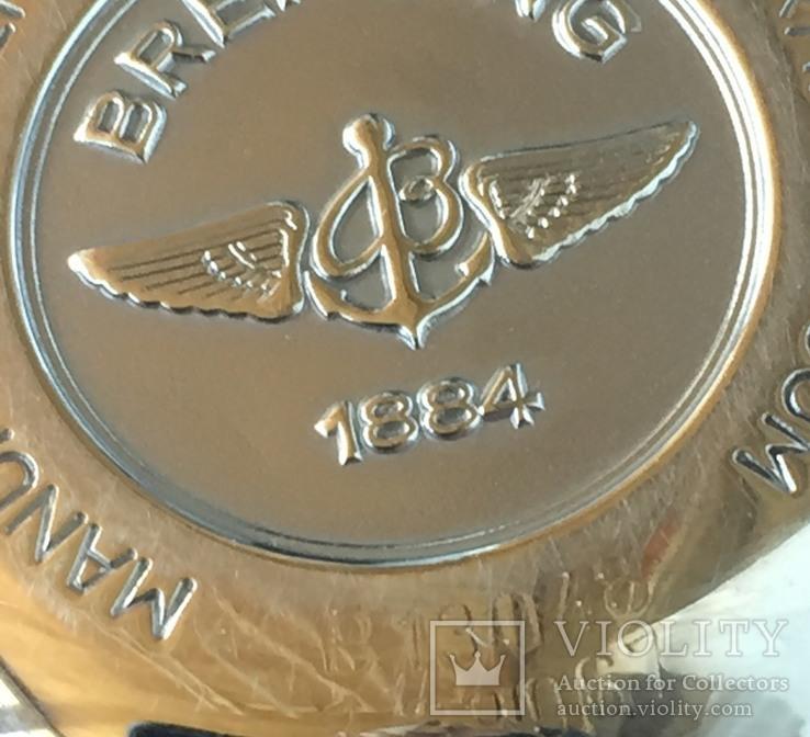 Часы фирмы-Breitling хронограф., фото №12