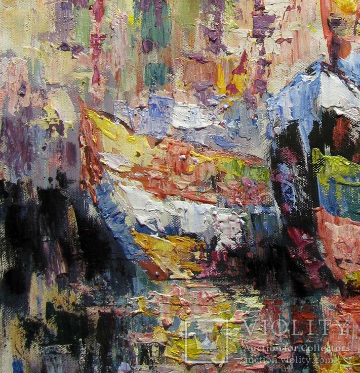,,Дыхание моря,, 40 x 60 см.холст.масло.акрил. А.Горб, фото №3