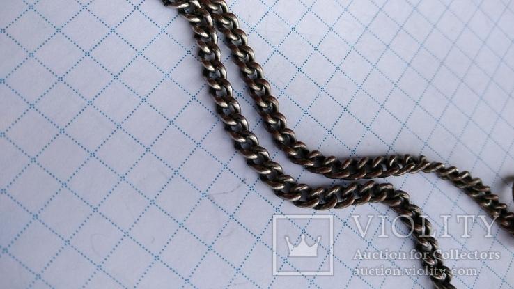 Шатлен для карманных часов 31,5см., фото №9