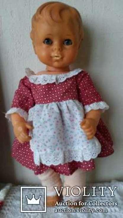 Кукла.40-см.ПР-ВО Германия.клеймо., фото №3