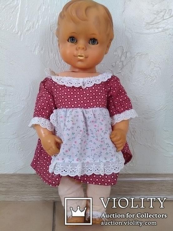 Кукла.40-см.ПР-ВО Германия.клеймо., фото №5