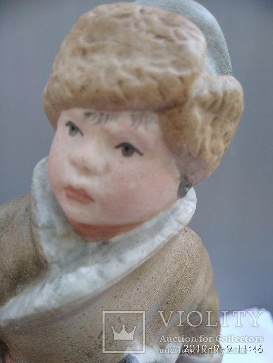 """Маленький дровосек (,Н.Некрасов """"Крестьянские дети) ск. МАслов.Песочное.1955 г., фото №8"""