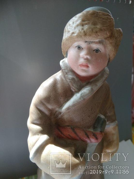 """Маленький дровосек (,Н.Некрасов """"Крестьянские дети) ск. МАслов.Песочное.1955 г., фото №13"""