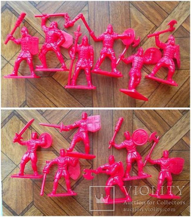 Солдатики - 12 рыцарей