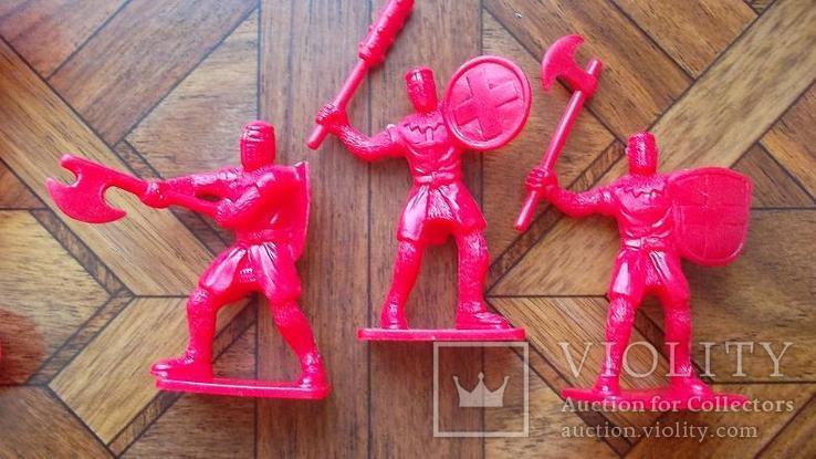 Солдатики - 12 рыцарей, фото №6