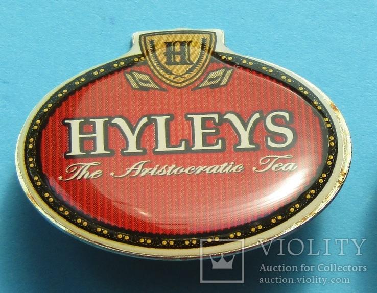 Hyleys. Рекламний знак англійського аристократичного чаю (10с), фото №2