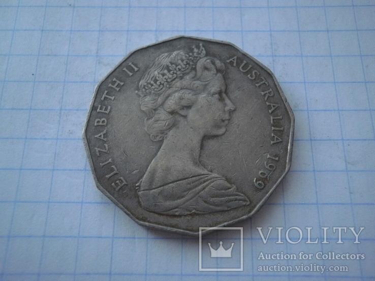 Австралія 1969 рік 50 центів., фото №2