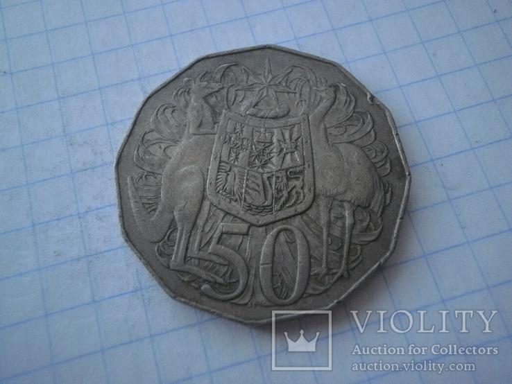 Австралія 1969 рік 50 центів., фото №3
