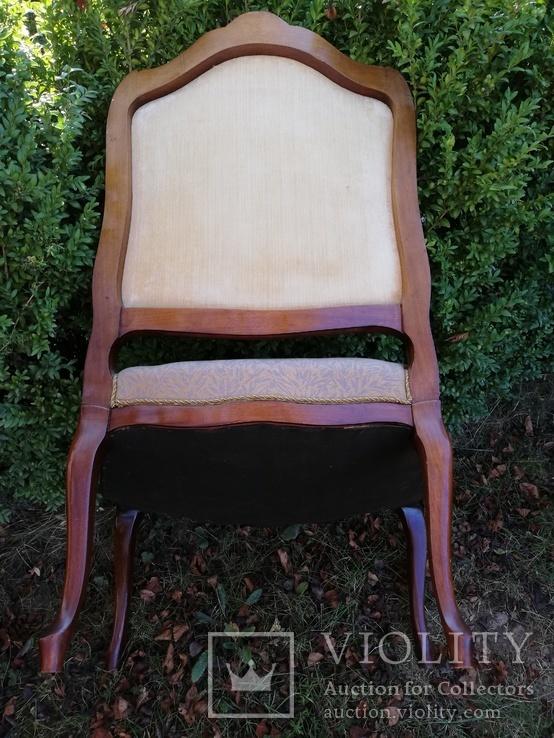 Крісло з красивою різьбою, Європа, фото №8