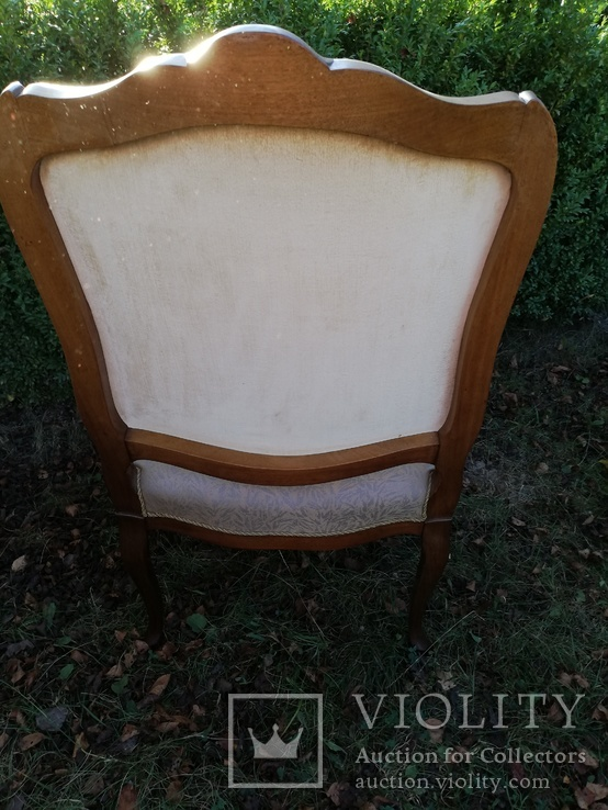 Крісло з красивою різьбою, Європа, фото №9