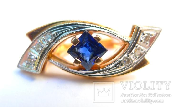 Набор кольцо и серьги 585 проба. Украина 8,7 гр., фото №3