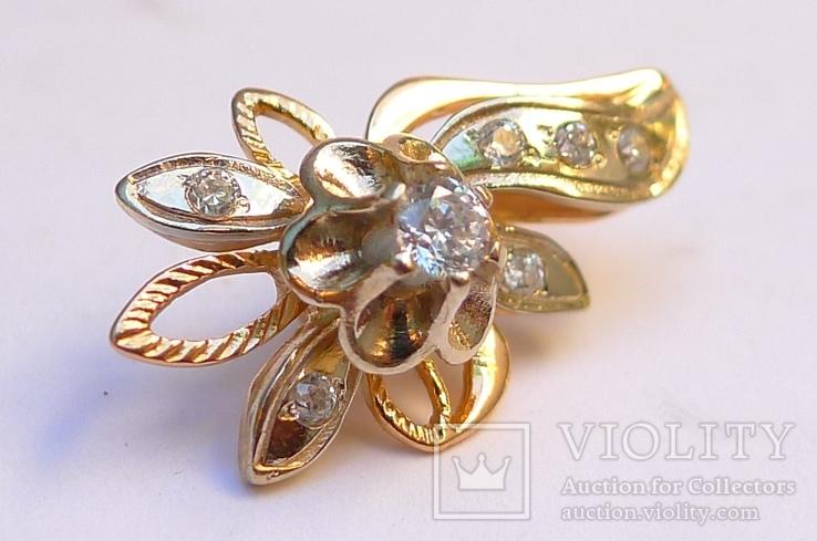 Набор кольцо и серьги.  8,5 грн., фото №4