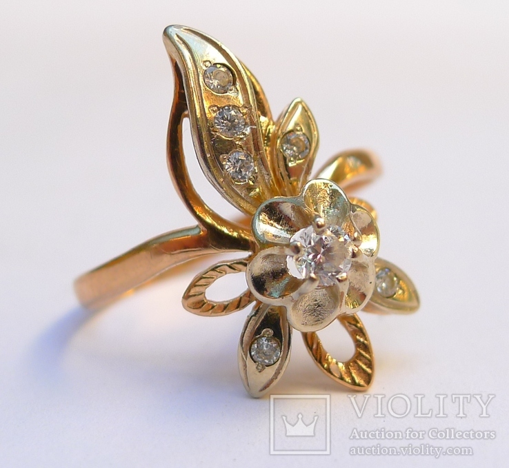 Набор кольцо и серьги.  8,5 грн., фото №6