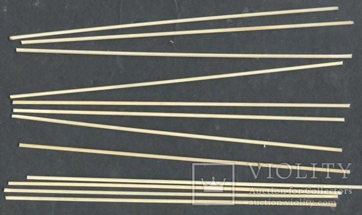 """Кисточки Ф2 ст/волоконные L200 """"под обжиг"""" 10+2, фото №2"""